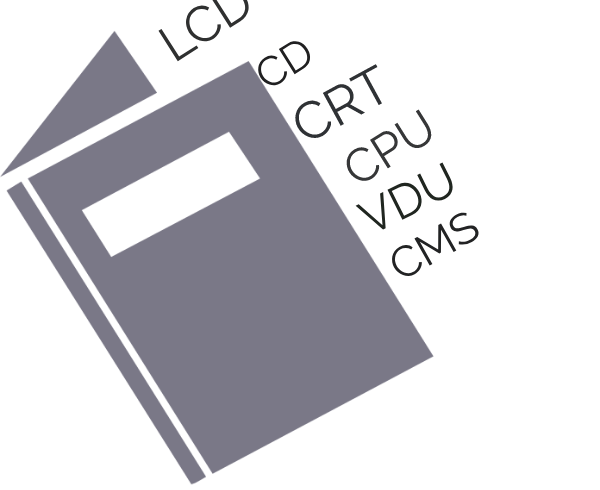 List of 30 commonly used computer abbreviations and their full forms